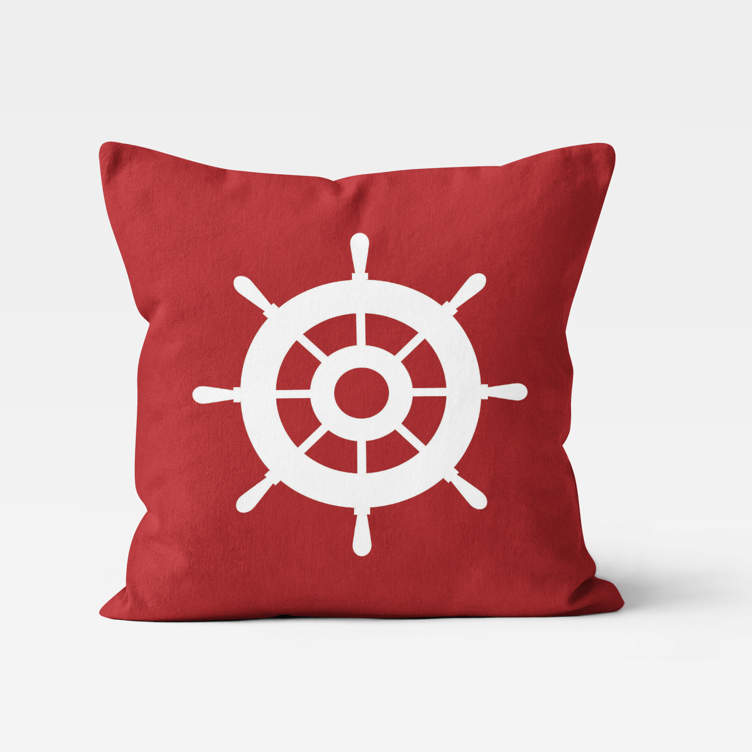 PKTP-00008-OceanAdventures-THROWPILLOW Ocean Adventures Nautical Theme Wheel House Boys Kids Accent Throw Pillow Room Decor Accessories by Pickleberry Kids